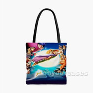 Disney Peterpan Characters Custom Personalized Tote Bag Polyester with Small Medium Large Size