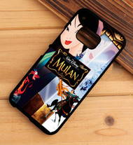 Mulan beautifully unfolds in Disney HTC One X M7 M8 M9 Case