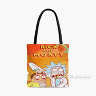 Rick and Morty Season 2 Custom Personalized Tote Bag Polyester with Small Medium Large Size