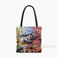 Super Smash Bros Caharacters Custom Personalized Tote Bag Polyester with Small Medium Large Size