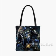 The Avengers Infinity War Thanos Custom Personalized Tote Bag Polyester with Small Medium Large Size