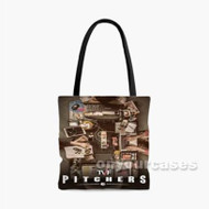 TVF Pitchers Custom Personalized Tote Bag Polyester with Small Medium Large Size