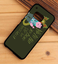 ou didn't say the magic word! jurasic park HTC One X M7 M8 M9 Case