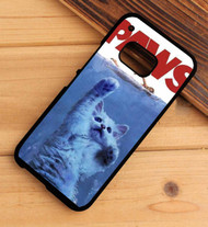 paws jaws cat HTC One X M7 M8 M9 Case