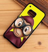 pbs curious george HTC One X M7 M8 M9 Case