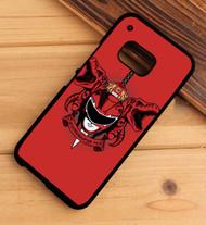 Power Rangers red HTC One X M7 M8 M9 Case