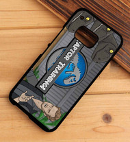 raptor training jurassic park world HTC One X M7 M8 M9 Case