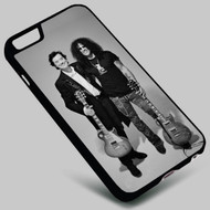 Jimmy Page Led Zeppelin and Slash Guns N Roses on your case iphone 4 4s 5 5s 5c 6 6plus 7 Samsung Galaxy s3 s4 s5 s6 s7 HTC Case