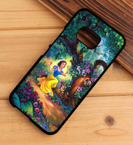 Snow White Fairy Forest Trees House disney HTC One X M7 M8 M9 Case