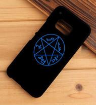 Supernatural Devil's Trap Symbol HTC One X M7 M8 M9 Case