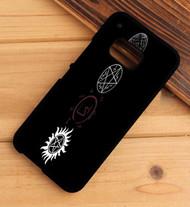 Supernatural Protective  Symbol HTC One X M7 M8 M9 Case