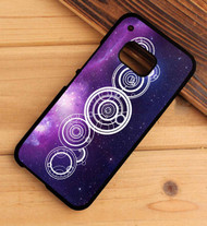 the doctor's name in gallifreyan tattoo HTC One X M7 M8 M9 Case