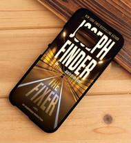 The Fixer Joseph Finder HTC One X M7 M8 M9 Case