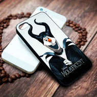 Disney Molaficent Olaf Frozen As Maleficent Custom on your case iphone 4 4s 5 5s 5c 6 6plus 7 case / cases