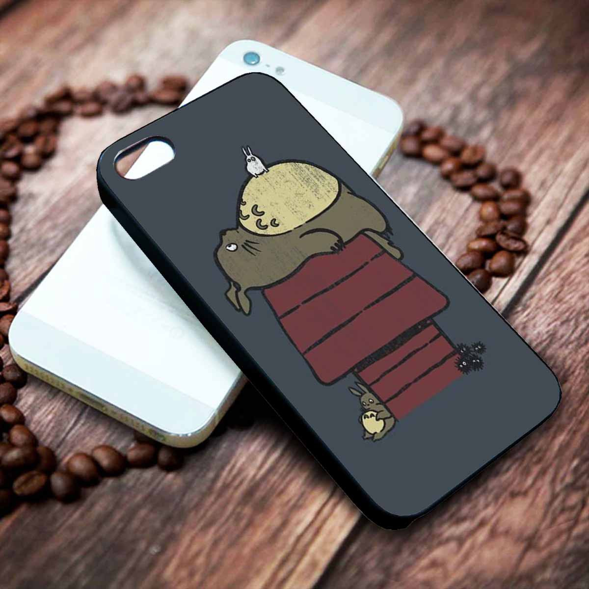 Totoro Snoopy Custom Case Custom Iphone Case Custom Samsung Galaxy