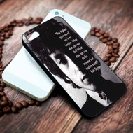 Bob Dylan Quotes Custom on your case iphone 4 4s 5 5s 5c 6 6plus 7 case / cases