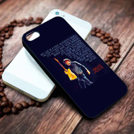 Bruce Springsteen Quotes Custom on your case iphone 4 4s 5 5s 5c 6 6plus 7 case / cases