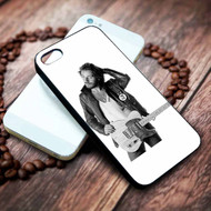 Bruce Springsteen With Guitars Custom on your case iphone 4 4s 5 5s 5c 6 6plus 7 case / cases