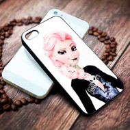 Punk Queen Elsa Custom on your case iphone 4 4s 5 5s 5c 6 6plus 7 case / cases