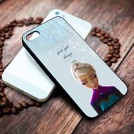 Frozen Elsa Quotes Custom on your case iphone 4 4s 5 5s 5c 6 6plus 7 case / cases