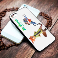 Nick Wilde and Judy Hopps from Disney Zootopia Custom on your case iphone 4 4s 5 5s 5c 6 6plus 7 case / cases
