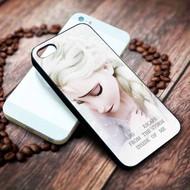 Queen Elsa Quotes Disney Frozen Custom on your case iphone 4 4s 5 5s 5c 6 6plus 7 case / cases