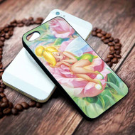 Sleeping Tinkerbell Custom on your case iphone 4 4s 5 5s 5c 6 6plus 7 case / cases