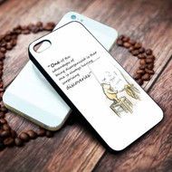 Winnie the Pooh Quotes 2 Custom on your case iphone 4 4s 5 5s 5c 6 6plus 7 case / cases