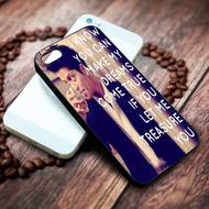 Bruno Mars Lyrics Custom on your case iphone 4 4s 5 5s 5c 6 6plus 7 case / cases