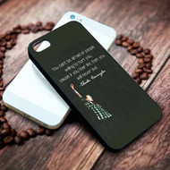 Chester Bennington Quotes Custom on your case iphone 4 4s 5 5s 5c 6 6plus 7 case / cases