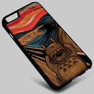 Munch's My Neighbor Totoro Studio Ghibli on your case iphone 4 4s 5 5s 5c 6 6plus 7 Samsung Galaxy s3 s4 s5 s6 s7 HTC Case