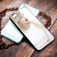 Taylor Swift Red Lips Custom on your case iphone 4 4s 5 5s 5c 6 6plus 7 case / cases