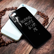 American Horror Story Normal People Scare Me Custom on your case iphone 4 4s 5 5s 5c 6 6plus 7 case / cases