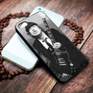 Angus Young ACDC Custom on your case iphone 4 4s 5 5s 5c 6 6plus 7 case / cases