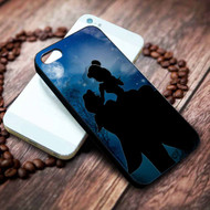 Beauty and the Beast Silhouette Custom on your case iphone 4 4s 5 5s 5c 6 6plus 7 case / cases