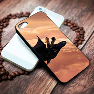 Hiccup Astrid And Toothless How To Train Your Dragon 2 Custom on your case iphone 4 4s 5 5s 5c 6 6plus 7 case / cases