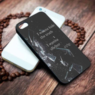 Imagine Dragons Lyrics Custom on your case iphone 4 4s 5 5s 5c 6 6plus 7 case / cases