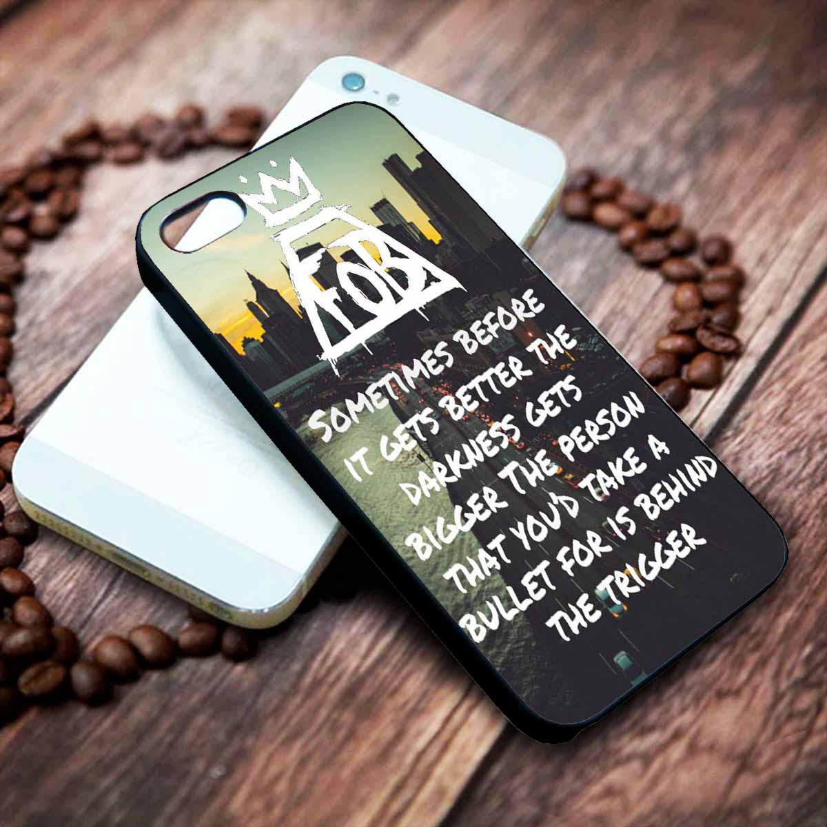 Miss Missing You - Fall Out Boy Lyrics Custom on your case iphone 4 4s 5 5s  5c 6 6plus 7 case / cases