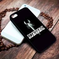 Scorpions Custom on your case iphone 4 4s 5 5s 5c 6 6plus 7 case / cases