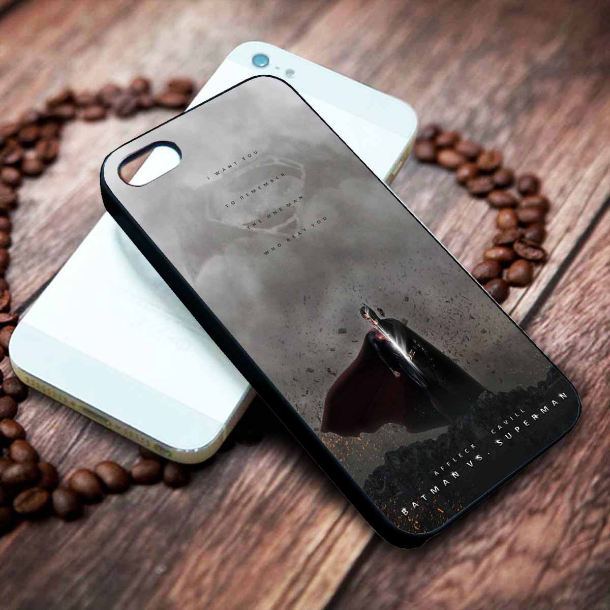 cheap for discount 40547 8f870 Batman VS Superman Dawn Of Justice Quotes Custom on your case iphone 4 4s 5  5s 5c 6 6plus 7 case / cases