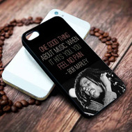 Bob Marley Quotes Custom on your case iphone 4 4s 5 5s 5c 6 6plus 7 case / cases