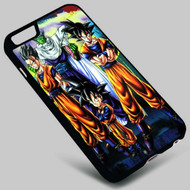 Piccolo Goku Gohan and Goten Dragon Ball Z on your case iphone 4 4s 5 5s 5c 6 6plus 7 Samsung Galaxy s3 s4 s5 s6 s7 HTC Case