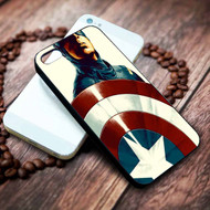 Captain America Custom on your case iphone 4 4s 5 5s 5c 6 6plus 7 case / cases