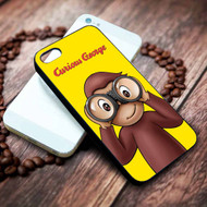 Curious George Custom on your case iphone 4 4s 5 5s 5c 6 6plus 7 case / cases