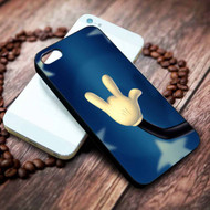 Mickey Mouse Hand Punk Custom on your case iphone 4 4s 5 5s 5c 6 6plus 7 case / cases