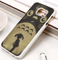My Neighbor Totoro Studio Ghibli Silhouette Custom Samsung Galaxy S3 S4 S5 S6 S7 Case