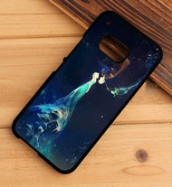 Jack Frost and Elsa Kiss Custom HTC One X M7 M8 M9 Case