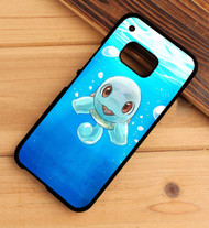 Squirtle Pokemon Custom HTC One X M7 M8 M9 Case