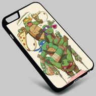 Teenage Mutant Ninja Turtles Pizza  on your case iphone 4 4s 5 5s 5c 6 6plus 7 Samsung Galaxy s3 s4 s5 s6 s7 HTC Case