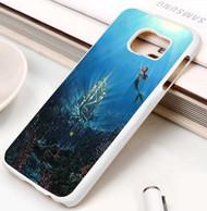 Ariel The Little Mermaid Castle Custom Samsung Galaxy S3 S4 S5 S6 S7 Case